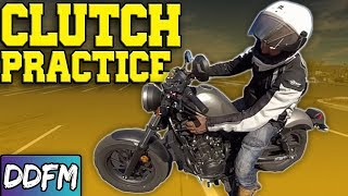 How NOT To Stall Your Motorcycle / Friction Zone Clutch Training