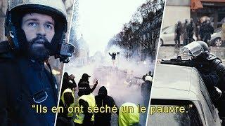 AU COEUR DE LA MANIF DES GILETS JAUNES