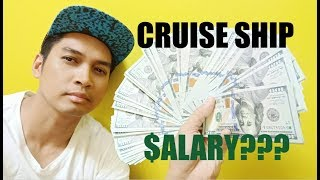 $$$ CRUISE SHIP WORKERS SALARY! 2019