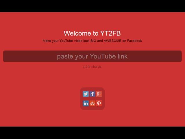 كيفية نشر مقطع فيديو اليوتيوب علي الفيسبوك بشكل مميز Youtube