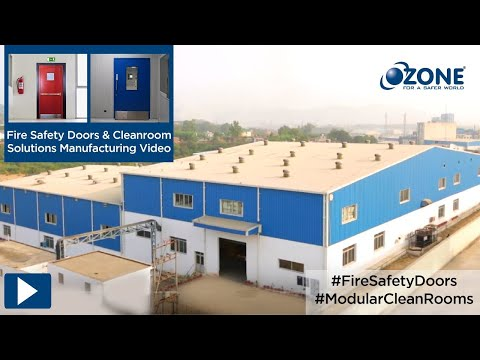 Ozone Manufacturing Facility of Fire Doors, Cleanroom Doors & Partition systems