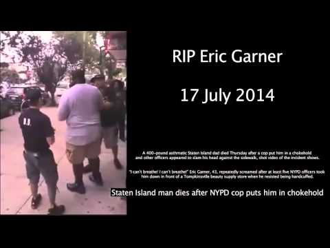 Police Killing a Man for Breaking Up a Fight RIP Eric Garner