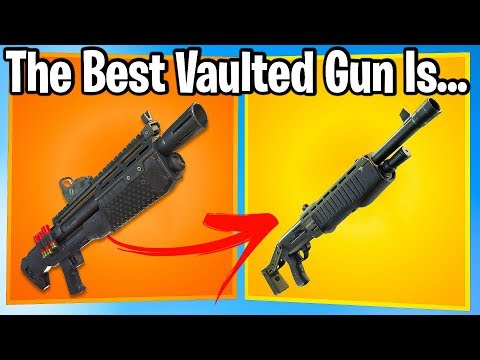 FORTNITE FANS RANK VAULTED WEAPONS FROM WORST TO BEST!