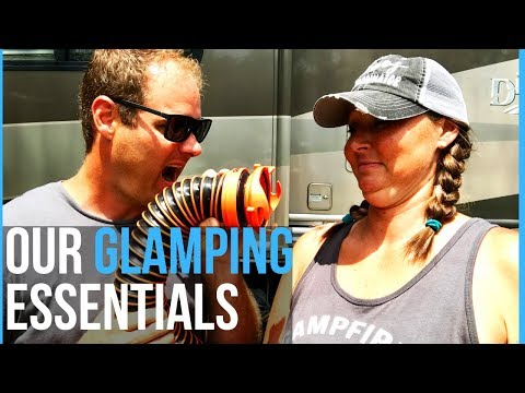 RV NEWBIE MUST-HAVE CAMPING ESSENTIALS & RV ACCESSORIES - FULL TIME RVING
