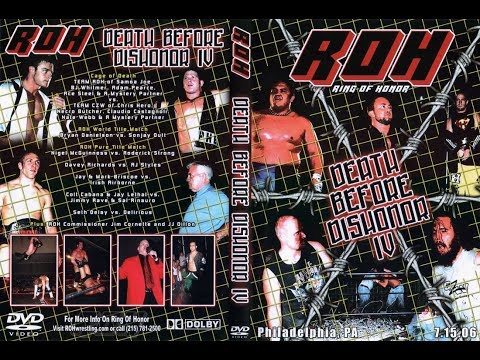 An Honorable Mention Episode 2 Death Before Dishonor IV Cage of Death