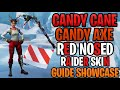 Red Nosed Raider Set Guide | Candy Candy Axe & Wrap Showcase | Best Red Nosed Raider Back Blings