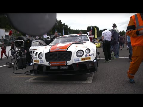 Bentley Continental GT3 At Spa - Chris Harris Drives - Top Gear