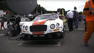 Chris Harris Drives The Bentley Continental GT3 At Spa | Top Gear