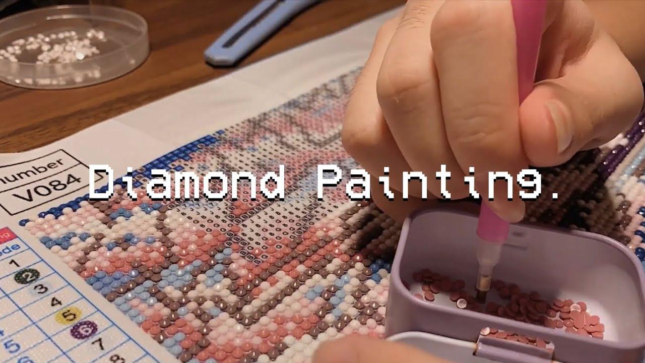 Diamond Painting ASMR (+lofi) — no talking