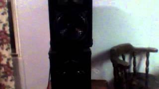 Podium Pro Audio DJ Speakers 800C 400 watts