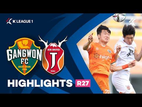 Gangwon Jeju Utd Goals And Highlights