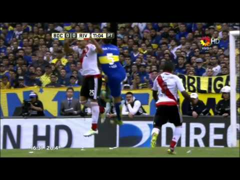 Boca Juniors 0 - 0 River Plate - Fecha 12 Torneo de Transición 2016