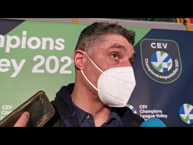 Coach Giani commenta il quarto di finale con Perugia