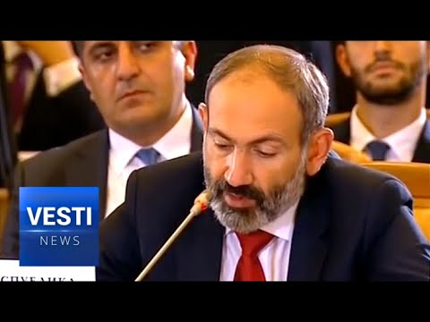 SENSATION! Velvet Revolutionary Armenian PM Nikol Pashinyan Swears Oath of Fealty to Russia-Led EEC