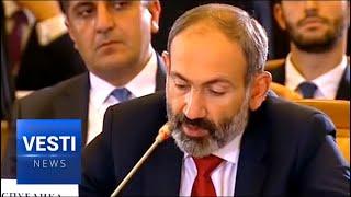 SENSATION! Velvet Revolutionary Armenian PM Nikol Pashinyan Swears Oath of Fealty to Russia-Led EEC