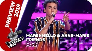 Marshmello & Anne-Marie - Friends (Max) | PREVIEW | The Voice Kids 2019 | SAT.1