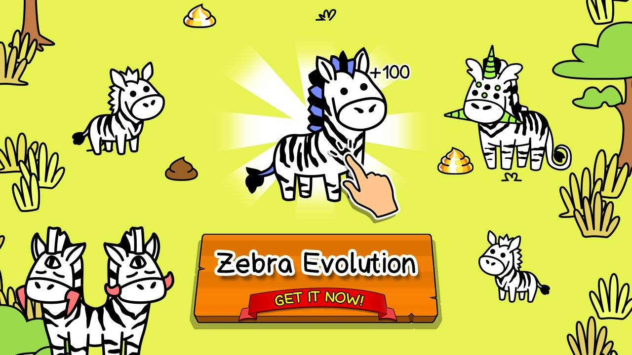 Uncategorized Zebra Game zebra evolution clicker game gameplay ios android youtube