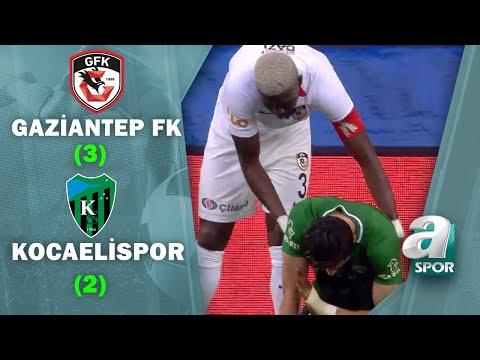 Gaziantep FK 3 - 2 Kocaelispor (Ziraat Türkiye 5. Tur Maçı) 16.12.2020   A Spor