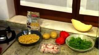 Le Ricette Di Manù: Ricetta Pasta Rustica Cavatelli Granoro Con Patate E Rucola