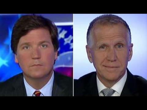 Tucker vs Republican lawmaker skeptical about Trump