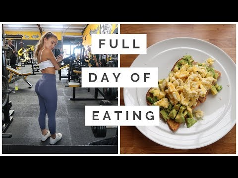 Full Day Of Eating For Booty Gains
