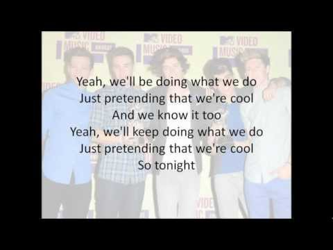One Direction - Live While We're Young (Lyrics Video) + MP3 Download!