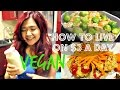 How To Live On $3 a Day - VEGAN EDITION (part 1) | Cheap Lazy Vegan