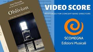 OBLIVION - Astor Piazzolla, arr.  Lorenzo Pusceddu