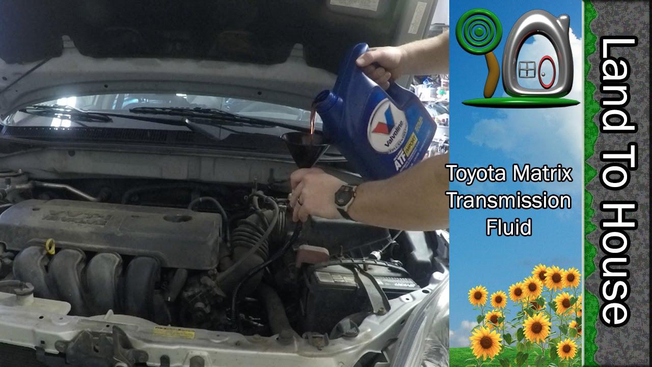 Toyota toyota matrix awd manual transmission : Toyota Matrix Transmission Fluid Change - YouTube