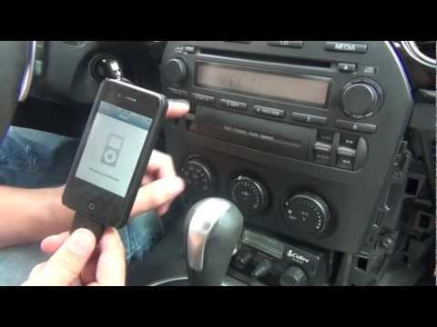 GTA Car Kits - Mazda MX-5 Miata 2006-2008 iPod, iPhone, iPad, mp3 and AUX adapter installation