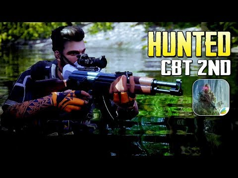 Hunted - TPS Unreal Engine 4 CBT Gameplay (Android/IOS)