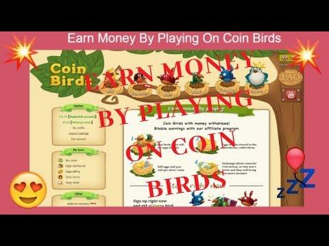 Earn Money By Playing On Coin Birds   COIN BIRDS   COIN BIRDS FARM