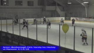 Acton Boxborough Girls Ice Hockey @ Austin Prep 3/5/16