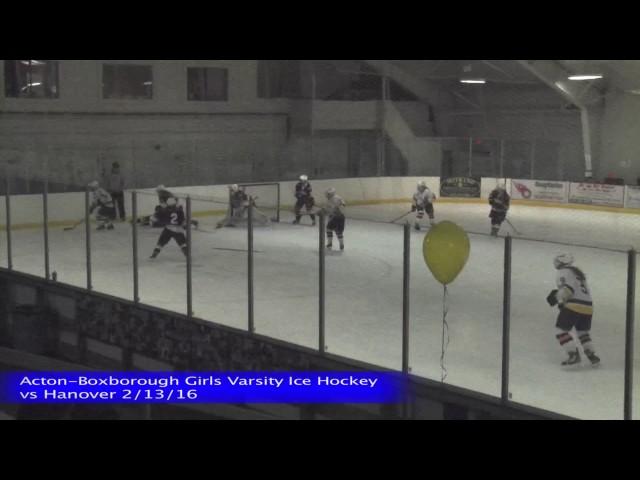 Acton Boxborough Girls Ice Hockey @ Austin Prep 3/5/16