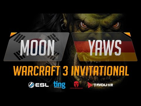 WC3 - Moon vs. yAwS - Ting Warcraft Invitational - Group B - Upper Bracket Semifinal