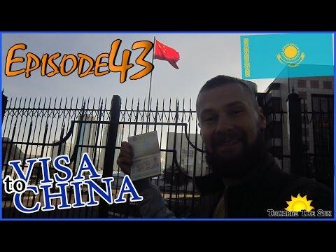 Chinese visa in Astana (Kazakhstan). Towards The Sun by Hitchhiking 43