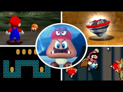 Evolution of Underground Levels in Mario Games (1985 - 2018)