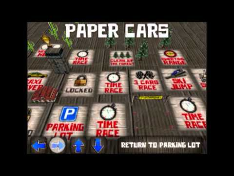 Paper Cars is now Cars And Guns 3D - new iPhone and Android 3D Car Shooter