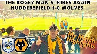 OFFICIAL BOGEY SIDE 😐 Huddersfield 1- 0 Wolves 👉 Match Night Vlog