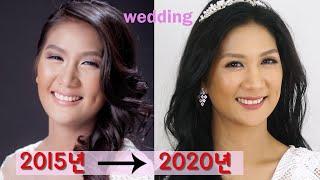 lovely wedding makeup 과거 웨딩사진을…