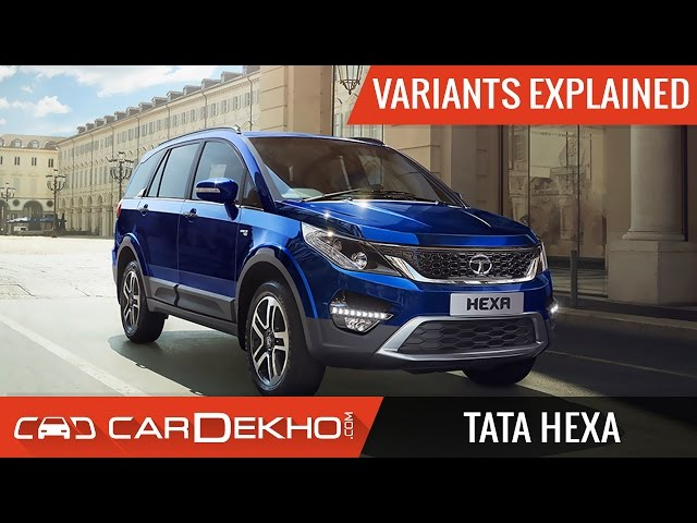 Tata Hexa Xe On Road Price Diesel Features Specs Images