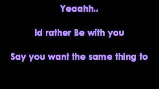 Joshua Radin - Id rather be with you lyrics
