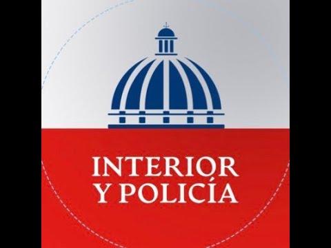 Participación del Ministro de Interior y Policía - Jesús (Chu) Vásquez Martínez.