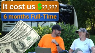 The cost of Fulltime RV Living for 6 months is..... | Plus bloopers!