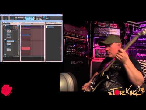 Guitar Tracking - TTK Makin' Music w Peter J. Cruz in Sonar X3 & Gobbler