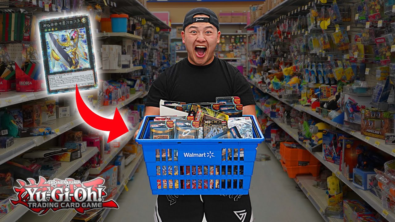 Download BUYING $1000 YU-GI-OH CARDS AT WALMART! (I HIT THE JACKPOT)