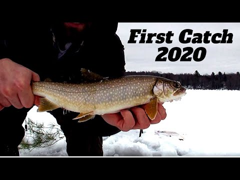 Maine Ice Fishing | First Catch For 2020