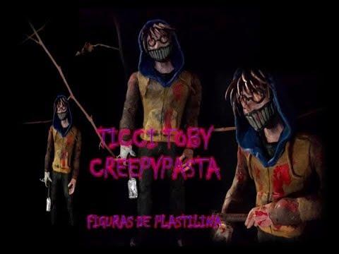 Ticci Toby Creepypasta -  Figura De Plastilina