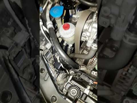 Хонда Аккорд 7 замена ламп ближнего света БЕЗ снятия бампера