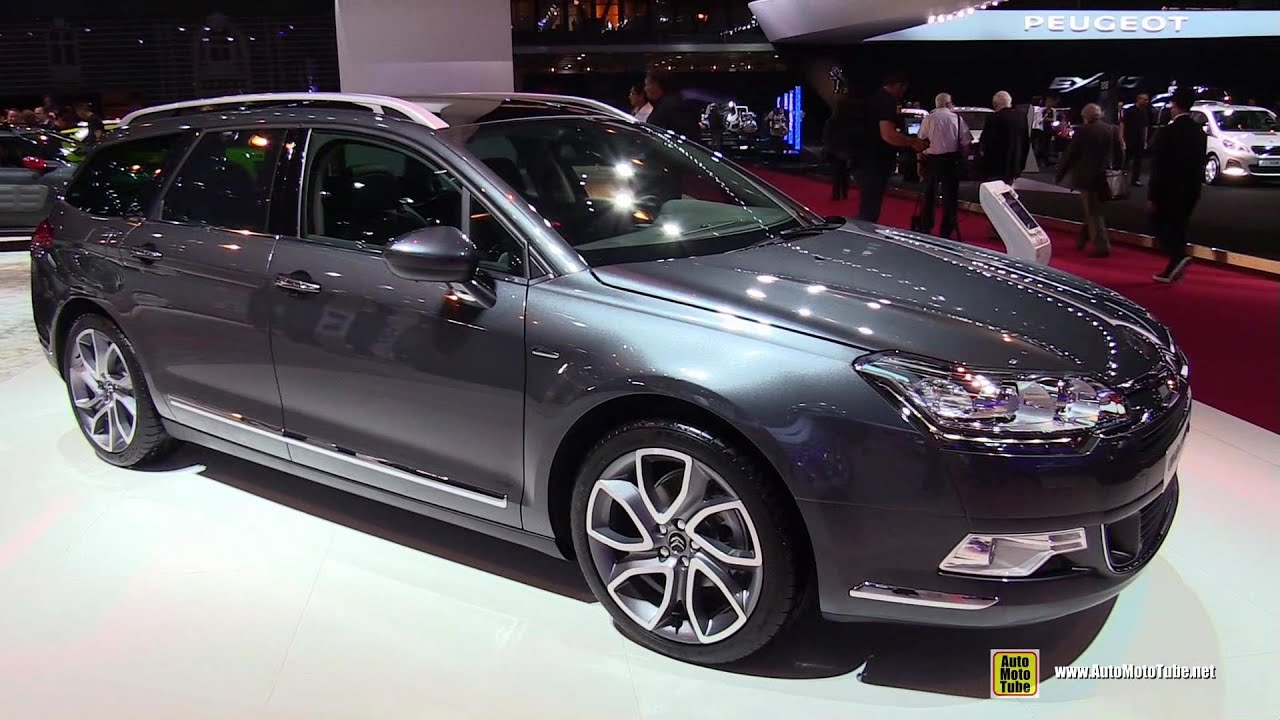 2015 citroen c5 tourer exterior and interior walkaround 2014 paris auto show youtube. Black Bedroom Furniture Sets. Home Design Ideas